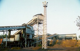 Coal Handling Plant for Loading Coal into Wagon
