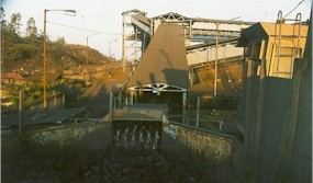 Feeder Breaker in a circuit of coal handling plant